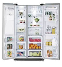 samsung fridge freezer. picture of samsung srs690gdls 690l ice \u0026 water side by fridge freezer e