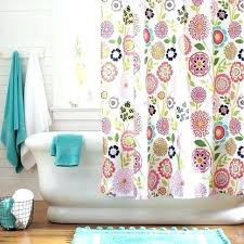 teen shower curtains pottery barn amazing curtain interior within girl attractive red gingham bathrooms in prospect