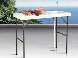 portable outdoor table with sink crazy s we have the best daily deals