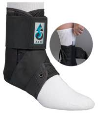 Medical Specialties Aso With Plastic Stays Ankle Brace