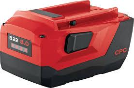 B22 8.0 <b>Аккумуляторная батарея</b> 22 В - Аккумуляторы для ...