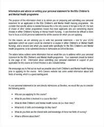 Psychology Personal Statement Example Psychology Personal Statement Template New Soap Note Example Sample