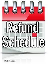 Irs Tax Chart 2018 2015 Irs Tax Refund Schedule 2017 Tax Tables Released Tax