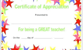 Free Printable Certificates For Teachers Danielpirciu Co