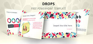 Drops Full Template For Powerpoint