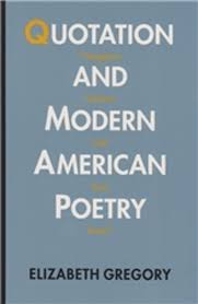 Quotation Poetry Quotation And Modern American Poetry