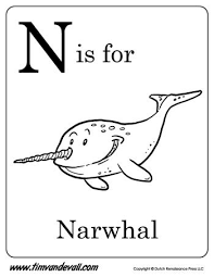 Letter blending + sight words + phonics | reading lessons for kids. N Is For Narwhal Letter N Coloring Page Pdf Preschool Alphabet Printables Letter A Coloring Pages Letter N