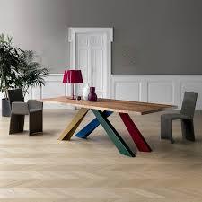 Big Table Tisch Mit Bunten Beinen Von Bonaldo Diotticom