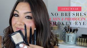 bobbi brown smokey eye makeup tutorial long wear cream shadow sticks no brushes you