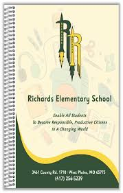 Elementary Student Planners Richards The School Planner