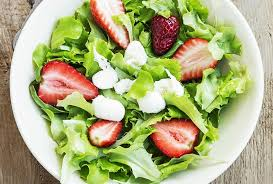 mixed green salad with strawberries.  Strawberries Mixed Greens And Strawberry Salad For Green With Strawberries