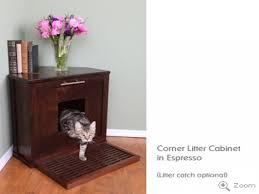 covered cat litter box furniture. Cat Litter Cabinet Corner Box Furniture Covered Cat Litter Box Furniture