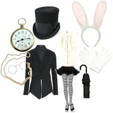 alice in wonderland white rabbit costume this is ideal for birthday