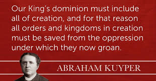 America Quotes Impressive Abraham Kuyper A Christian Worldview Orthodox Presbyterian Church