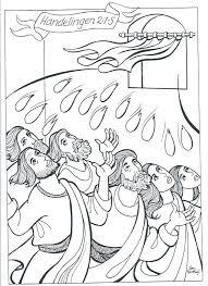 Kleurplaat Pinksterfeest 3 10 Jaar Bijbels Opvoedennl Within