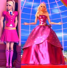 blair s uniform to princess dress princess charm