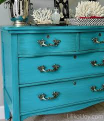 teal color furniture. Craigslist Dresser Gets A Colorful Makeover // How To Paint Furniture   I Absolutely Love Teal Color O