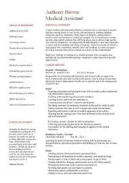Medical Assistant Resume Examples Fascinating Best Medical Assistant Resume Complete Guide Example