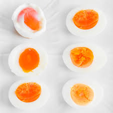 Soft Boiled Egg Chart Perfect Boiled Eggs