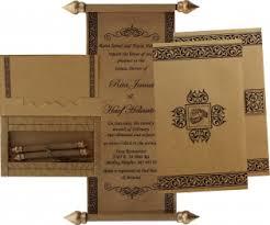 Scroll Wedding Cards Scroll Wedding Invitations
