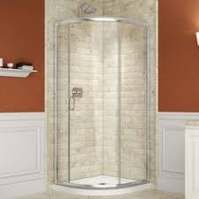 36 x 36 corner shower kit. shop dreamline solo chrome acrylic floor round 2-piece corner shower kit (actual: 36 x