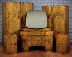 antique art deco bedroom furniture. art deco walnut bedroom suite c1930 antique photo furniture e