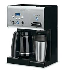 For cleaning your cuisinart coffee maker you must fill water into the reservoir. Cuisinart Coffee Plus 12 Cup Programmable Coffeemaker Plus Hot Water System Reviews Wayfair