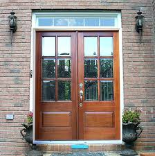 front entry doors with glass double front entry doors with glass ideas modest double exterior doors