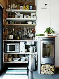 small kitchen design ideas. Even A Small Kitchen Could Feature Fireplace (via Digsdigs) Design Ideas R