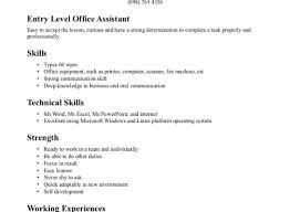 Resume Medical Office Assistant Resume Awesome Medical