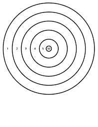 cdbb4627ed9cf20a27f3a0e15900531a 244 best images about targets on pinterest pistols, guns and on printable targets for zeroing