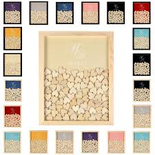 wedding guest book drop top custom wedding guest book personalized guestbook drop box wood frame for party gifts party favors wedding party favour from