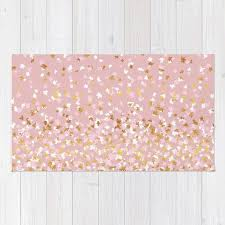 gold and white area rug fantastic pink rugs designs home ideas 45