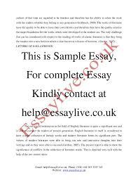 modernism inside and outside essay sample modern literature 4