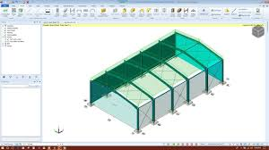 Portal Frame Design Software Design Of Steel Portal Frame In Tekla Structural Designer 2018 Part1 2