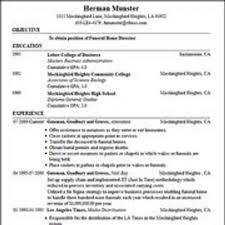 resume generator free