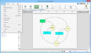 Click Chart Diagram Download Clickcharts Free Diagram And Flowchart Maker 4 35 Beta