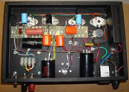 a push pull tube power amplifier 12ax7 heater wiring at Tube Amp Wiring