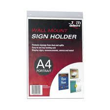sign holder for glass doorsign holders officeworks