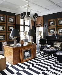 elle decor home office. designer megan winters lake forest home tour elle decor office