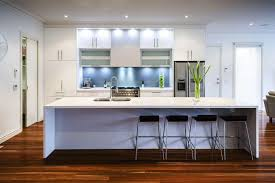 Image of: White Contemporary Kitchen Cabinets for Sale
