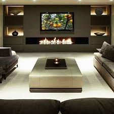 home entertainment wood burning stove source the tv screen and wall mounted fireplace