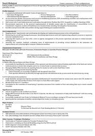 resume format for back office executive resume examples 2017
