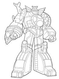 Coloriage Power Rangers Dino Super Charge Cool Kick Coloring Page