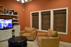 Orange Decorating For Living Room Brown And Orange Living Room Decorating Ideas Bungalow Makeover