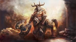 story hero dota 2 the bradwarden centaur warrunner steemit