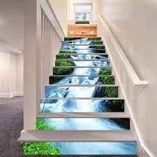 6 Pcs/Set Staircase Sticker Waterfall ...