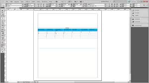 table chart design inspiration. How To Create Calendar In InDesign Table Chart Design Inspiration