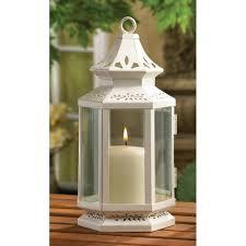 Amazon Com Medium Size Victorian White Candle Lantern