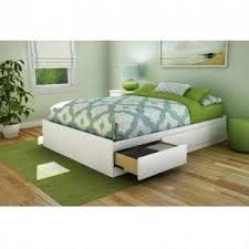 Full size Contemporary Platform Bed with 3 Storage Drawers in